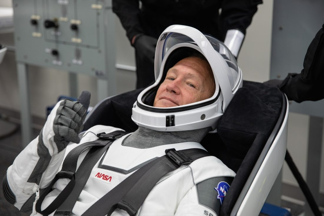 NASA astronaut Douglas Hurley Demo-2