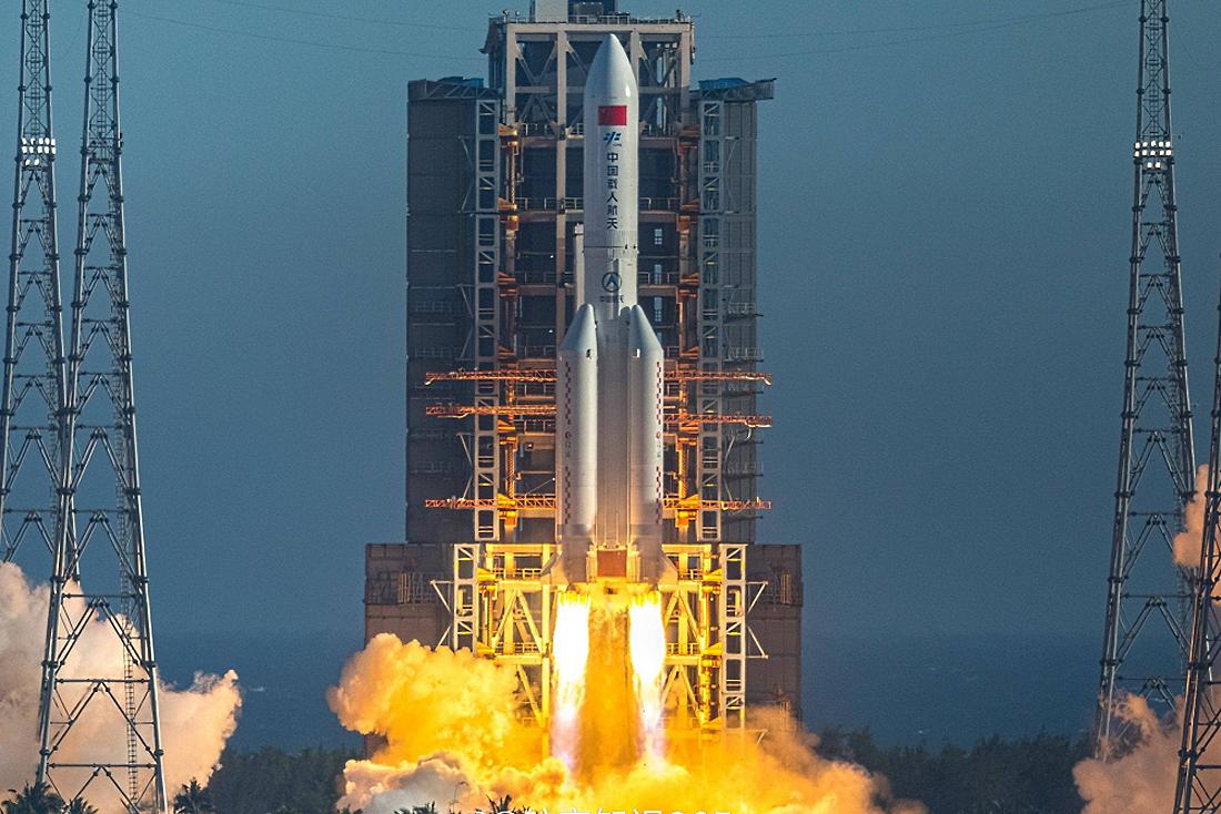 CZ-5, rocket, Kinija, erdvėlaivis, testai