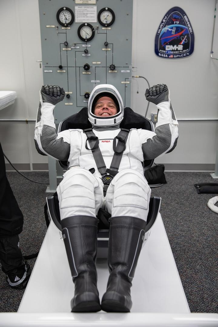 NASA astronaut Bob Behnken SpaceX