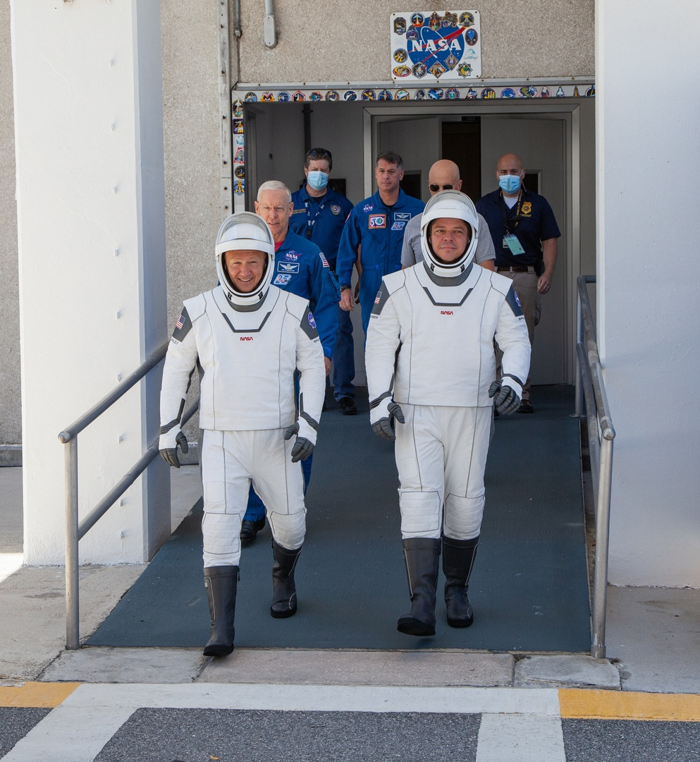 SpaceX BobBehnken_DouglasHurley SpaceX, NASA, Demo-2