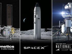 NASA HLS Lunar landing