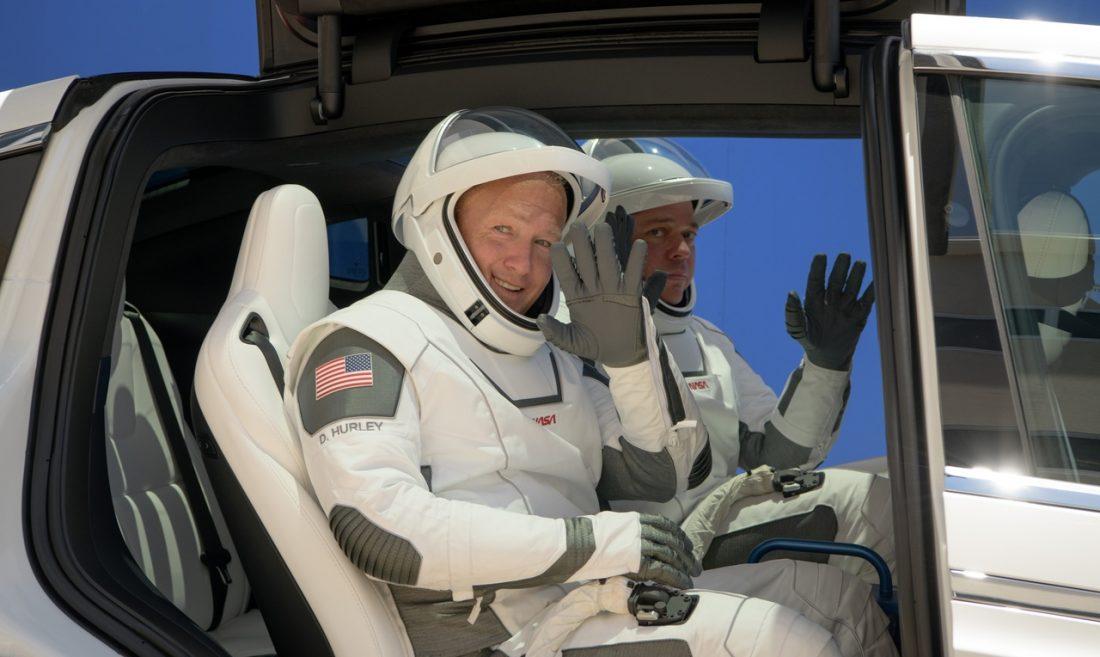 BobBehnken_DouglasHurley Demo-2 SpaceX, NASA, Demo-2