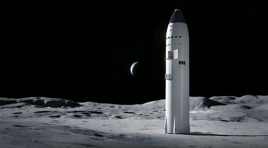 Starship-SpaceX NASA, HLS