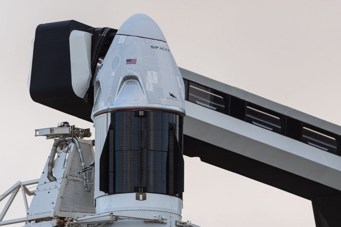CrewDragon, NASA, Demo-2