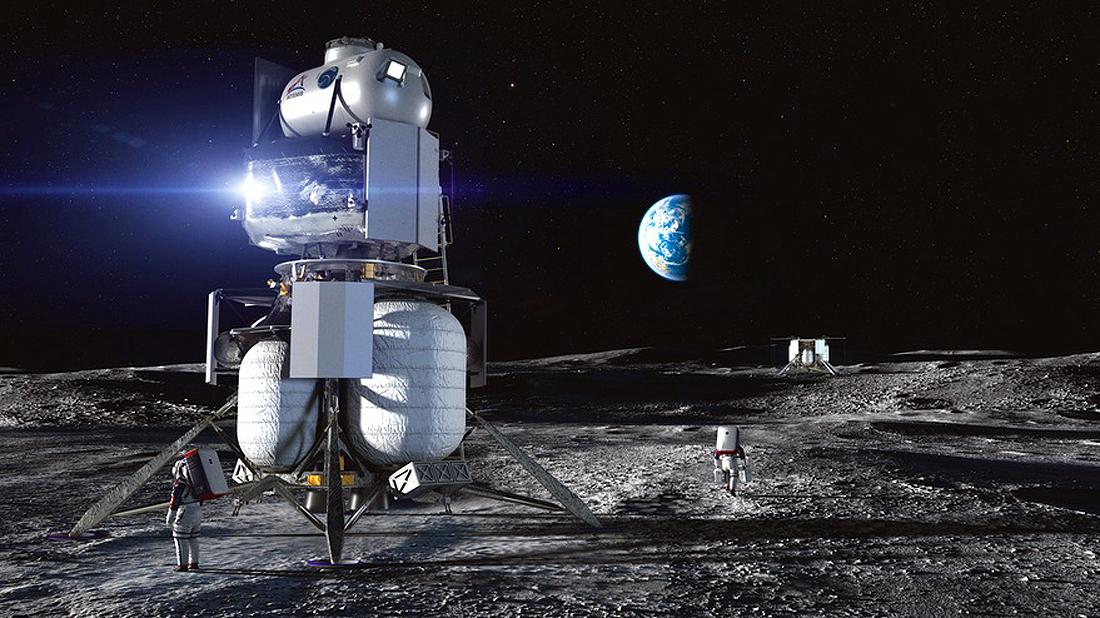 hls blueorigin NASA