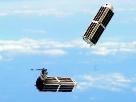 Dove Cubesat Planet Labs