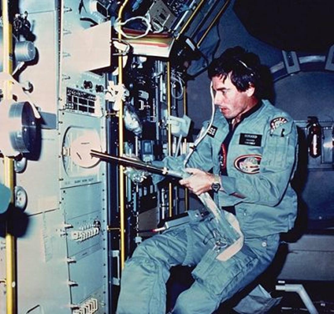 Ulf_Merbold_Spacelab-1, vienas pirmųjų astro specu