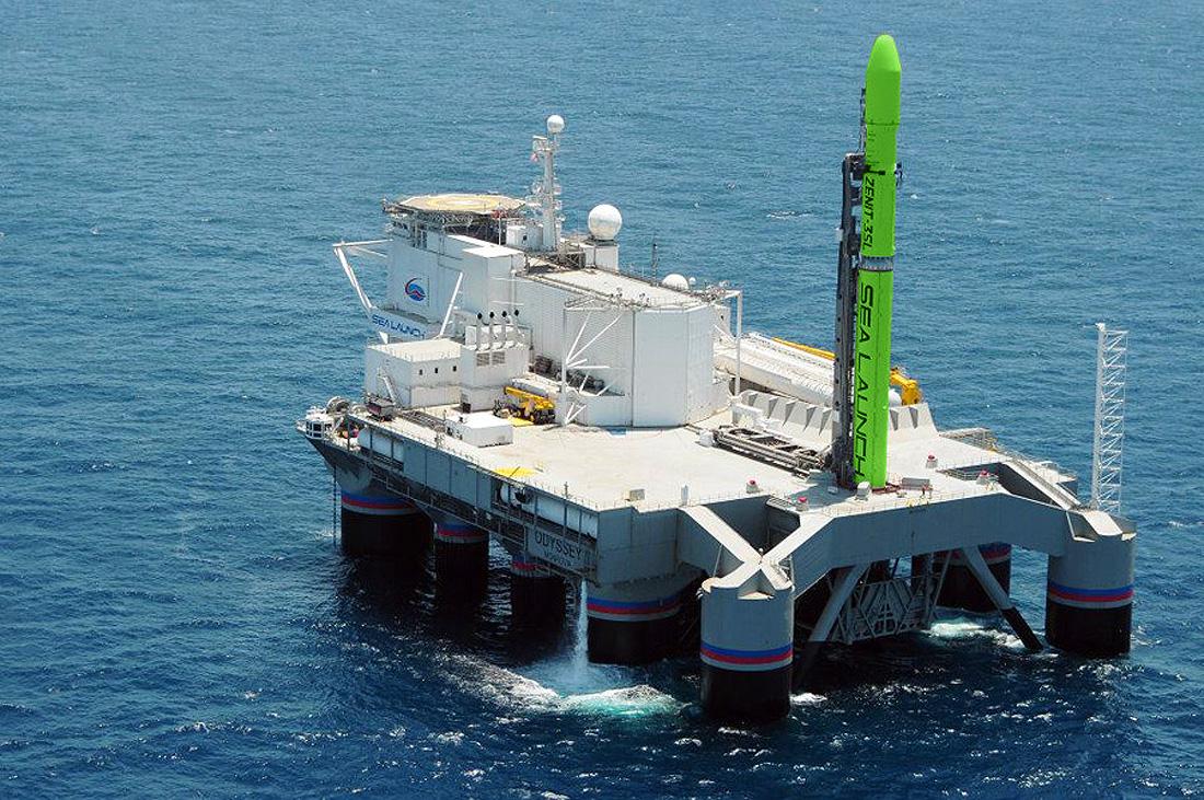 rocket Zenit 3SL Sea launch