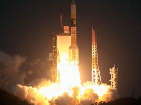 Japonija H-IIA Kizuna satellite 2020 february 23
