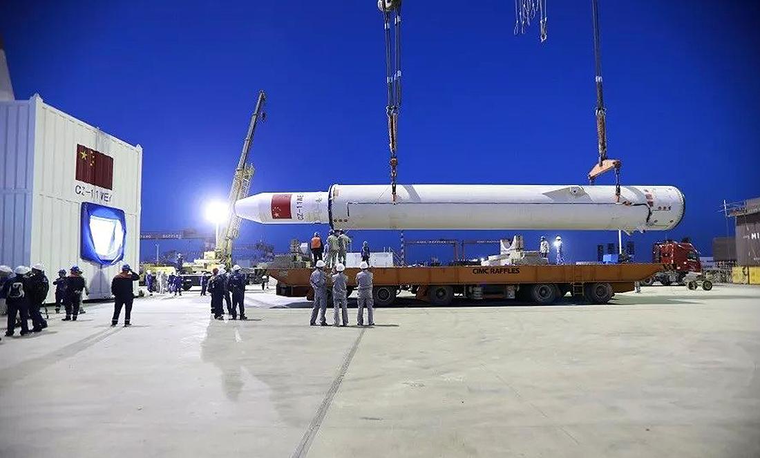 Long March-11 rocket