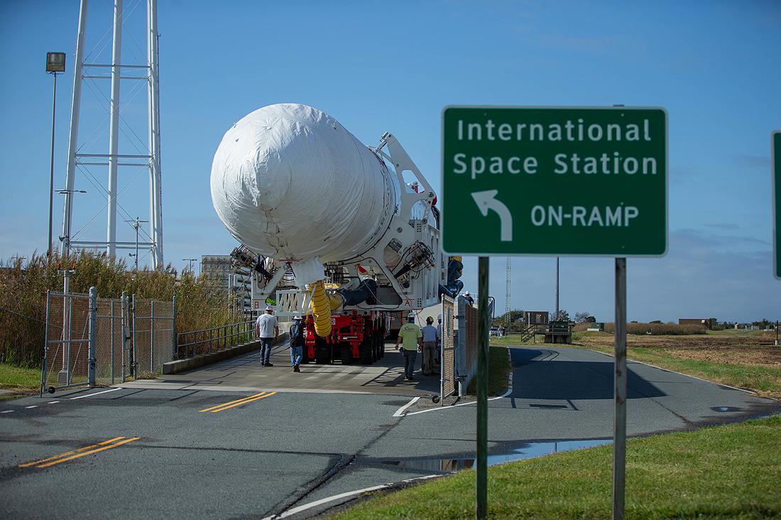 Estée Lauder, NASA Antares rocket