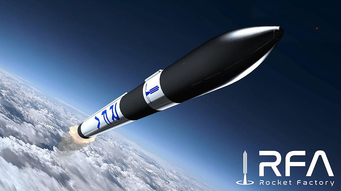 Boost RFA_ONE_small_launch_vehicle