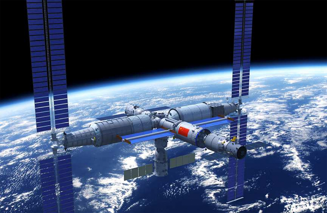 China module space station