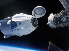 erdvėlaiviai Crew-Draco-Demo-2