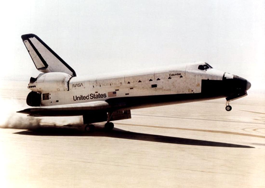 erdvėlaivis Columbia STS-1