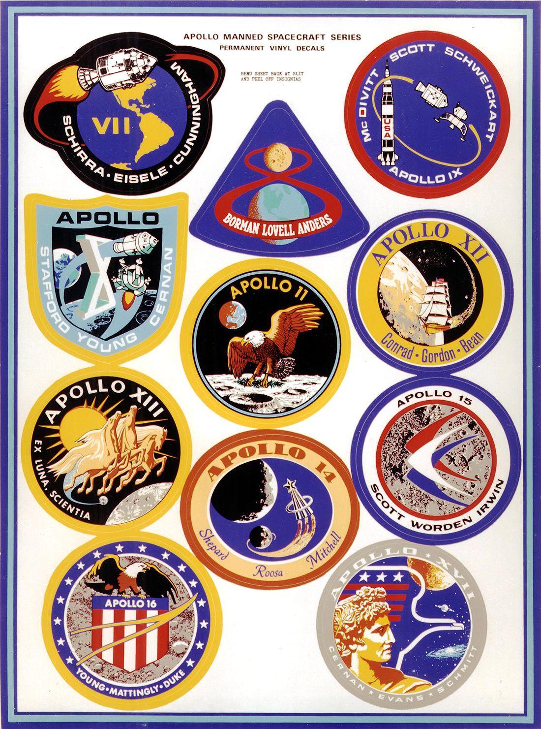 Apollo missions-logo
