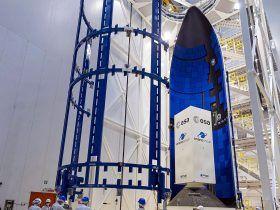 Ariane 6 fairing at Gviana