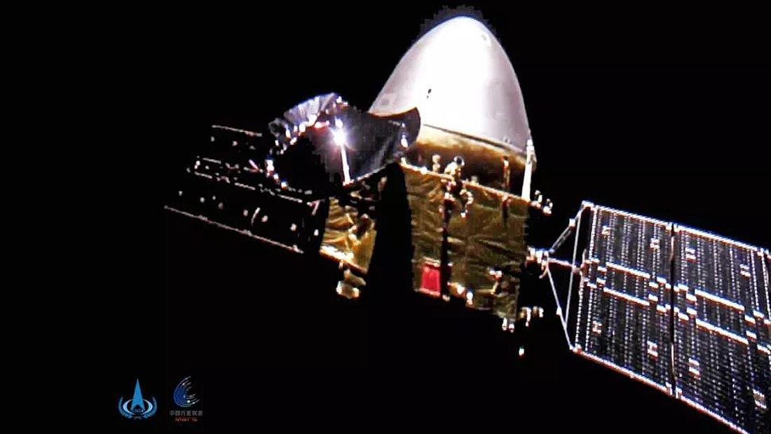 Tianwen-1 China Mars spacecraft