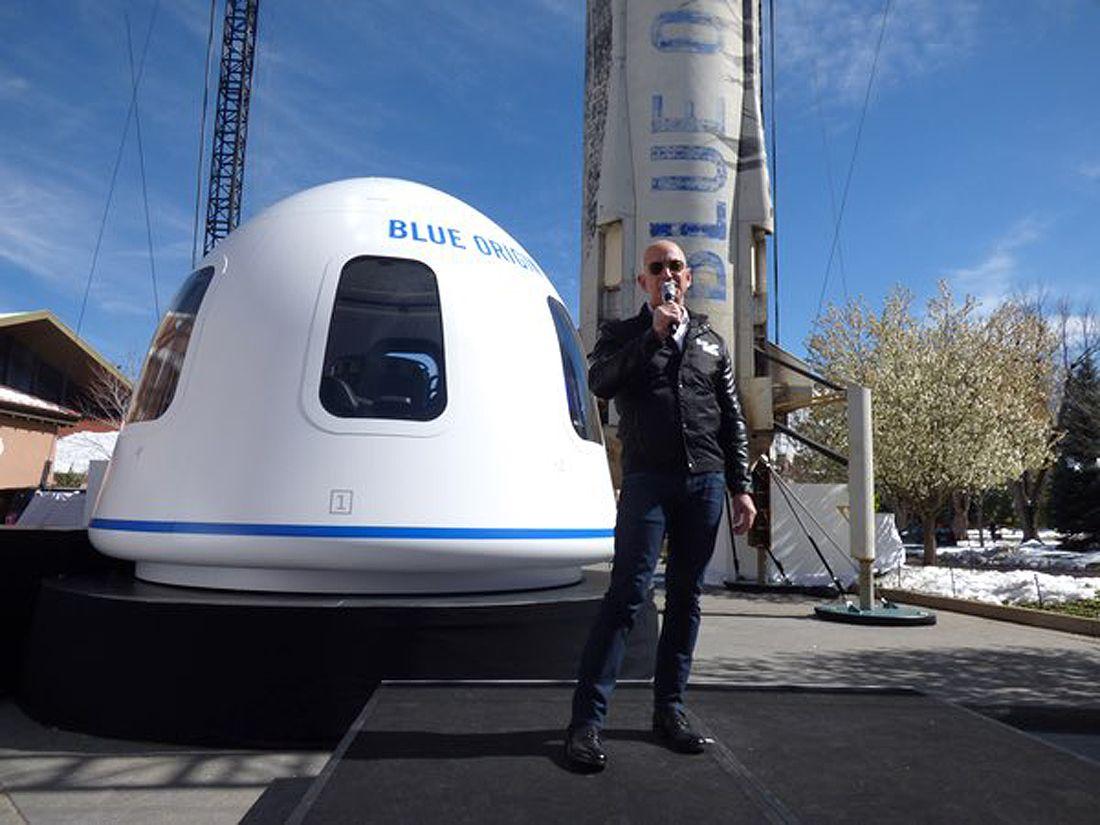 Shephard Amazon CEO Jeff Bezos