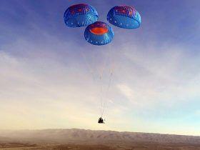 New Shephard landing
