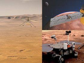 Marsas Perseverance Ingenuity Hope Zhurong
