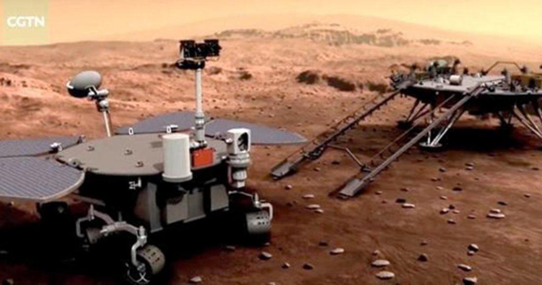 Marsas Zhurong China