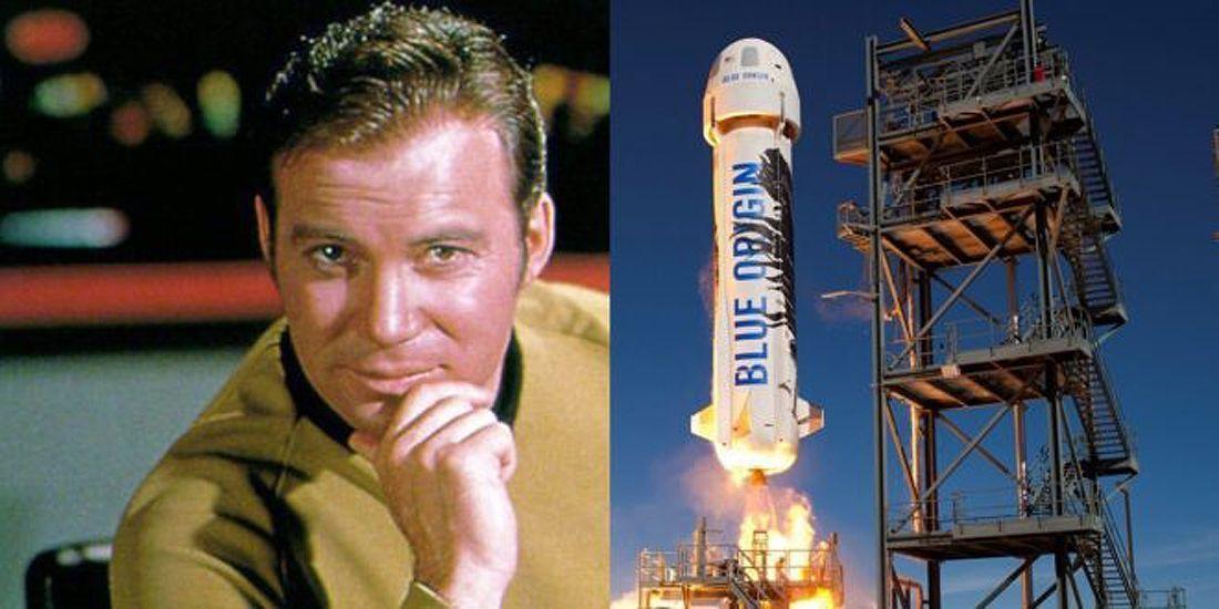 Kirk Blue Origin turizmas